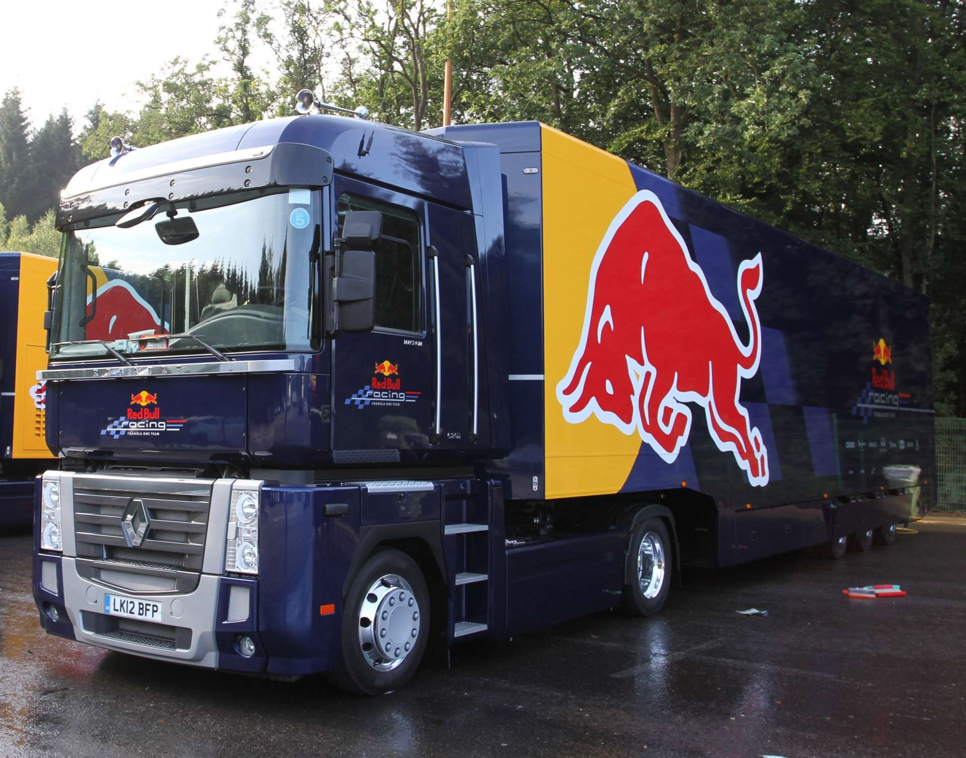 Red Bull - one truck weekly