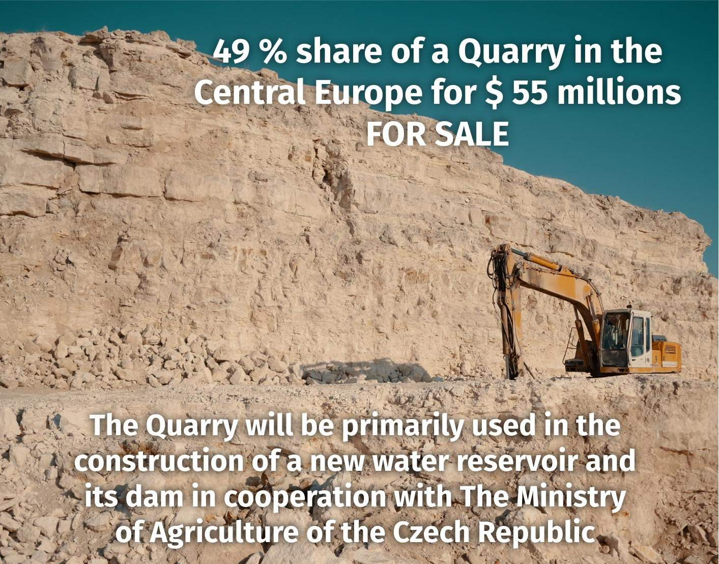 Quarry in the Central Europe