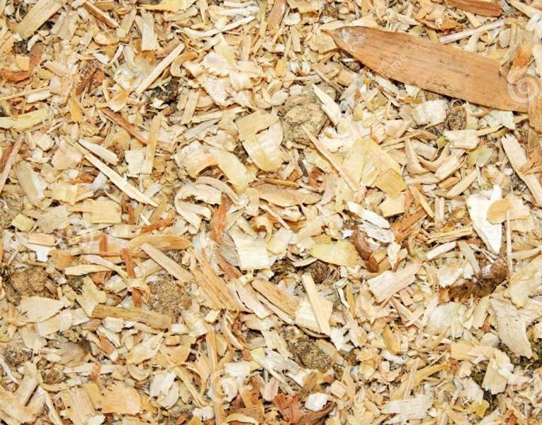Sawdust for animal bedding